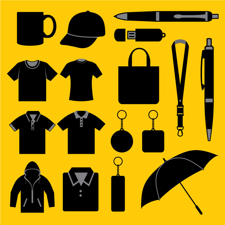promotional merchandise vector art
